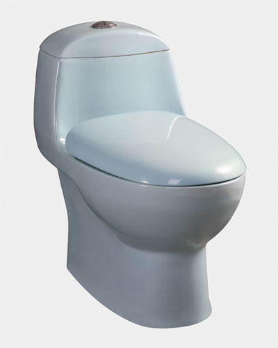 Siphonic one-piece toilet 9103