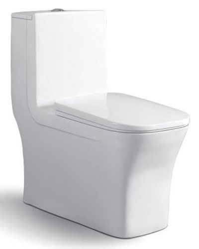 Siphonic one-piece toilet 9182